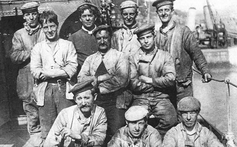 Кочегары броненосного крейсера «Кент»