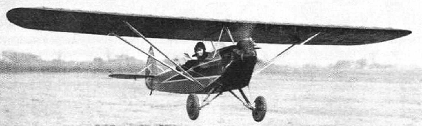 Эдд Хит писал: «Это такой простой в управлении самолет, что опытный пилот может посадить его даже без помощи рук!»