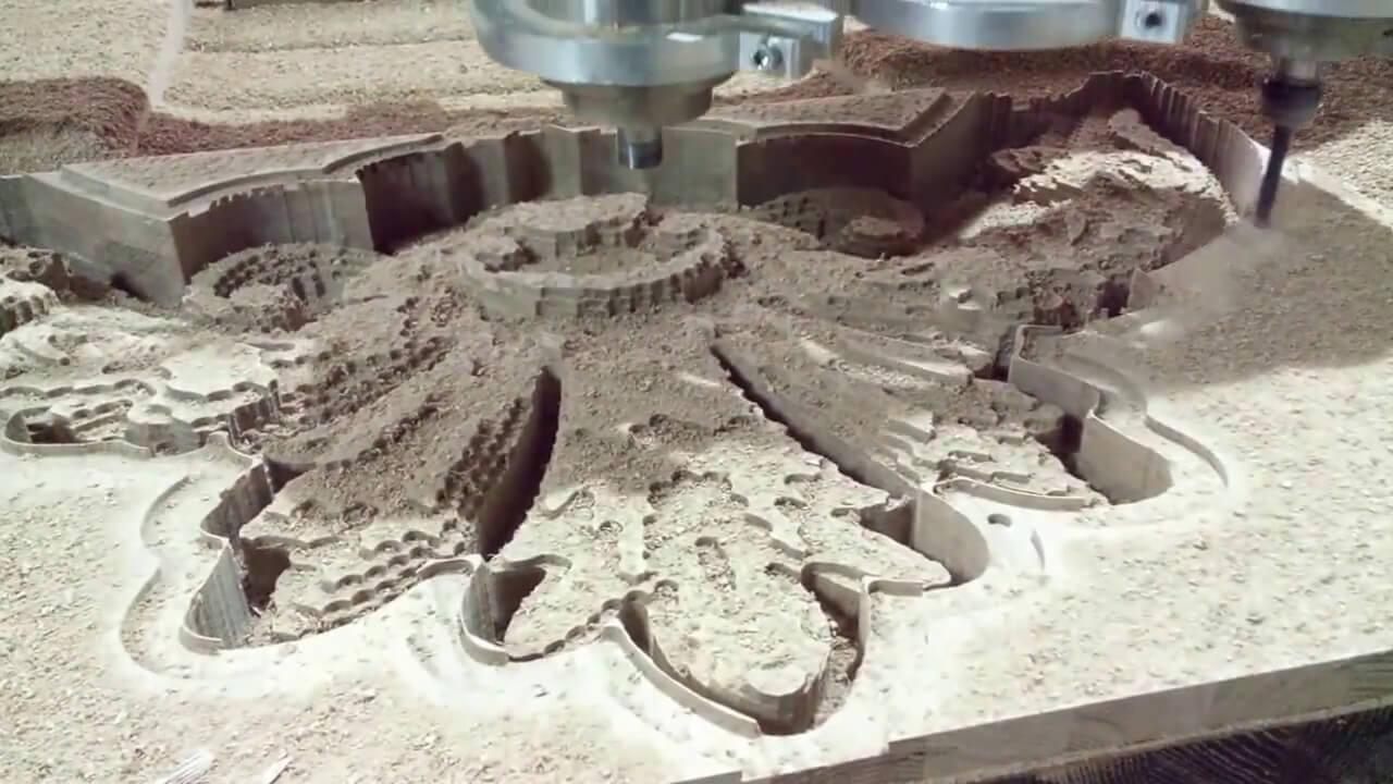 Фрезы для 3D обработки на ЧПУ станках