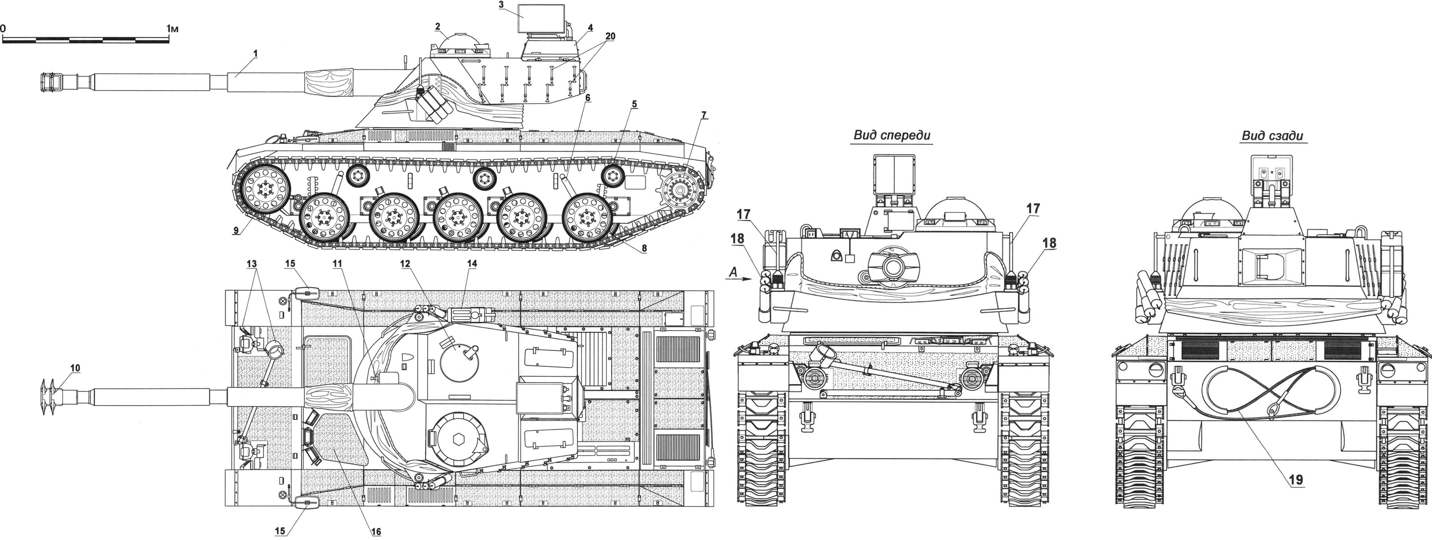 "Легкий танк ""Кирасир"":"