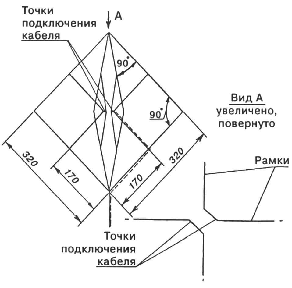 Самодельная теле антенна