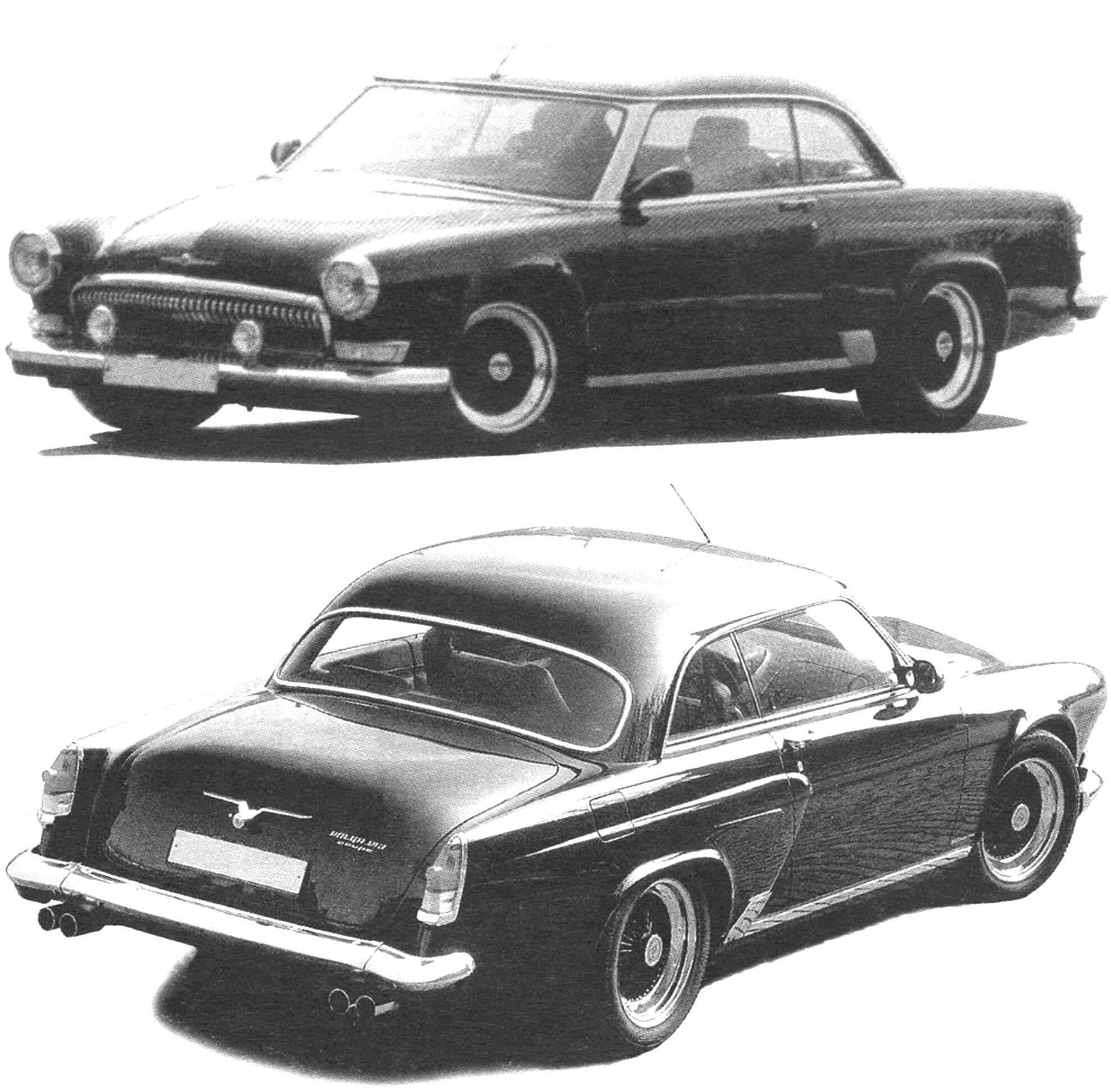 """Дизайн автомобиля """"Волга"""" 1950 годов и сегодня побуждает художников-конструкторов к созданию ренликаров но мотивам легендарной """"двадцать первой"""". На снимке - Volga V12 coupe, построенная к 2000 году московской фирмой """"Автолак"""". Машина оснащена 380-сильным двигателем V12 и всеми возможными системами комфорт и безопасности"""