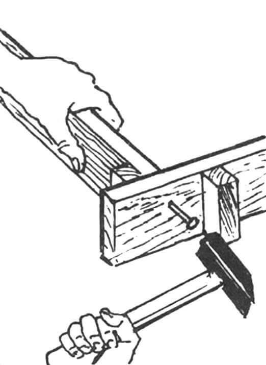 Рис. 1. Изготовление стенок ложа дорожки