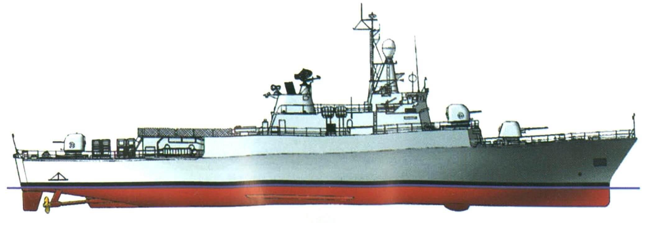 Фрегат «Эспора» (проект МЕКО-140), Аргентина, 1985 г.
