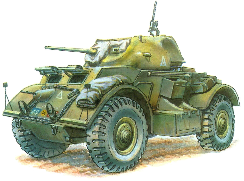 Бронеавтомобиль Staghound I. 18-й полк бронеавтомобилей, 2-й канадский армейский корпус. Северо-Западная Европа, 1945 г.
