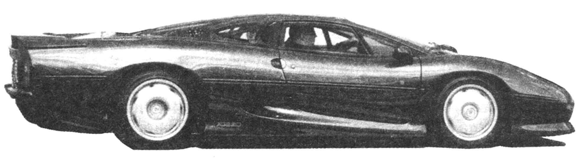 Автомобиль Jaguar XJ 220 1988 года