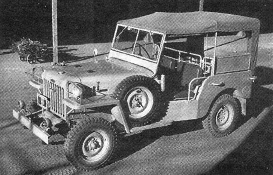 Land Cruiser выпуска 1951 года - первый внедорожник фирмы Toyota
