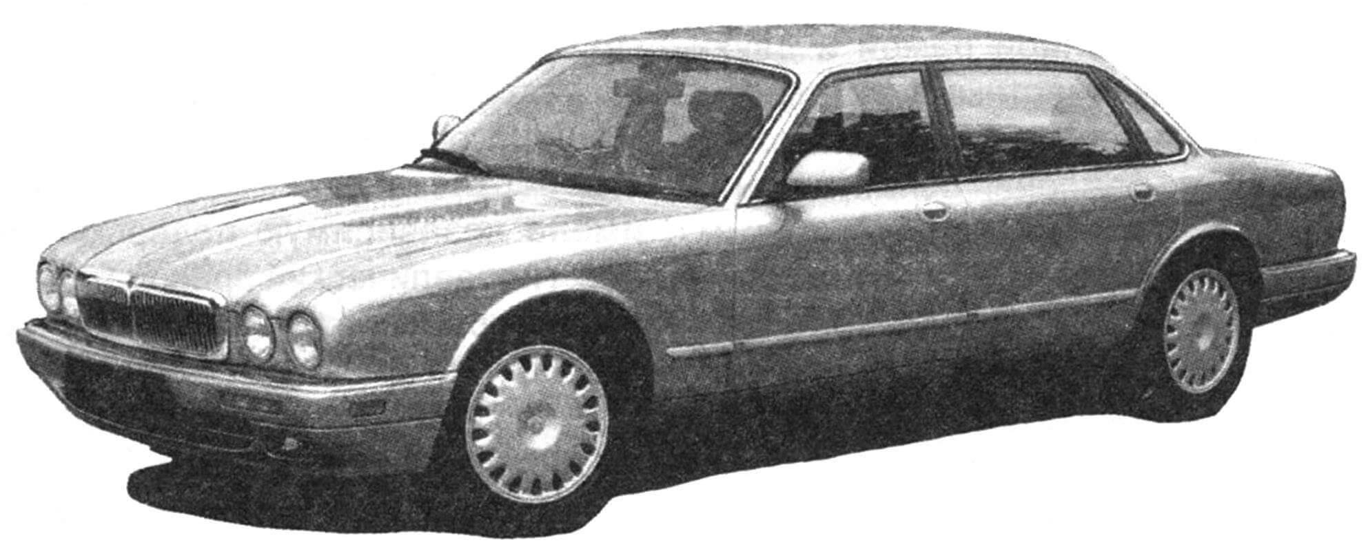 Автомобиль Jaguar XJ 8 1998 года