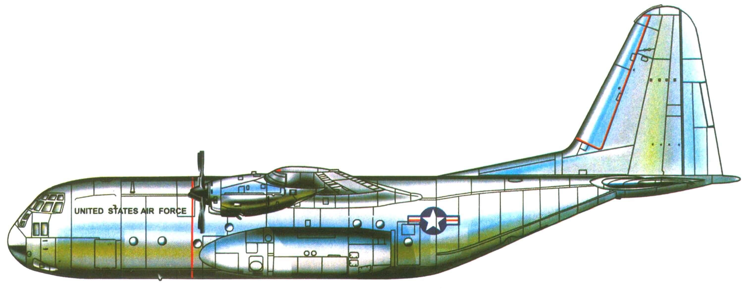 Опытный самолет YC-130