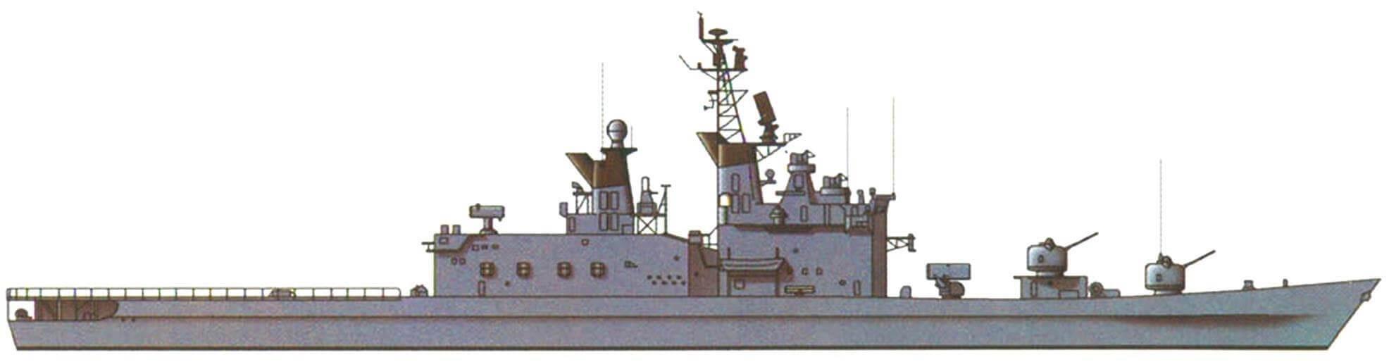 "Эсминец ""Сиранэ"", Япония, 1980 г."