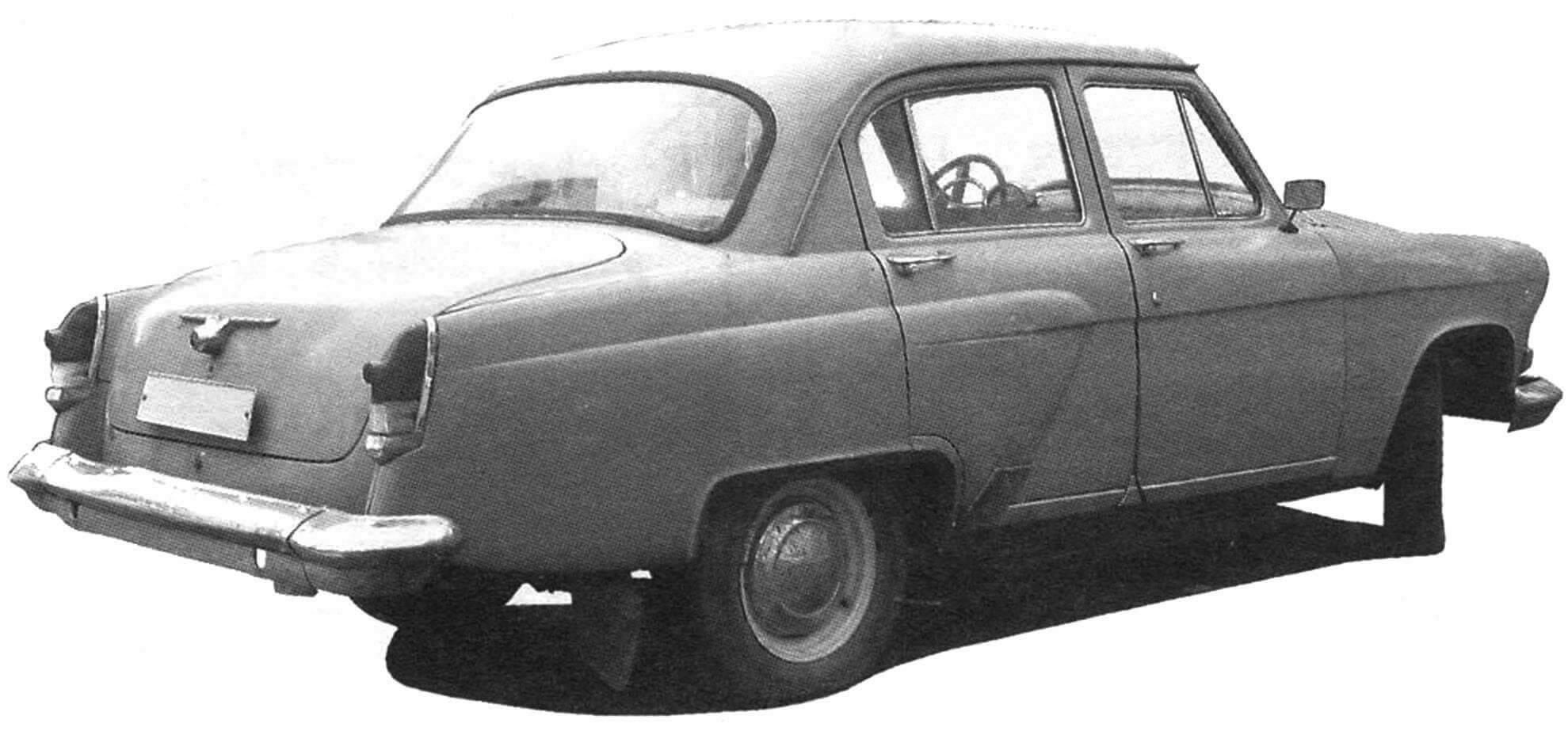 Автомобиль ГАЗ-21Р - автомобиль, выпускавшийся на ГАЗе с 1962 года