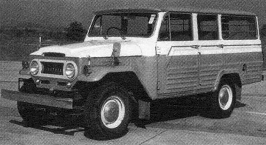 Внедорожник выпуска 1960 года - Land Cruiser 40