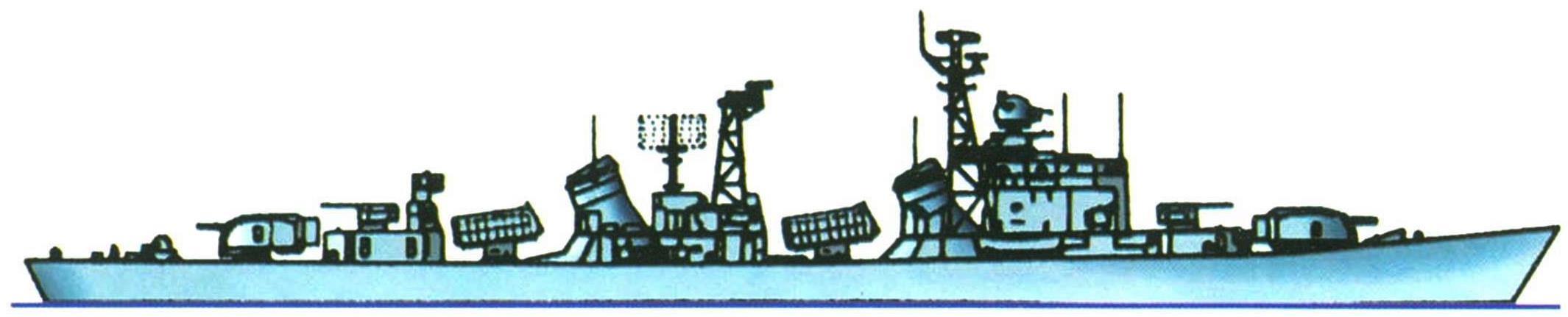 "Эсминец ""Цзинань"", Китай, 1972 г."
