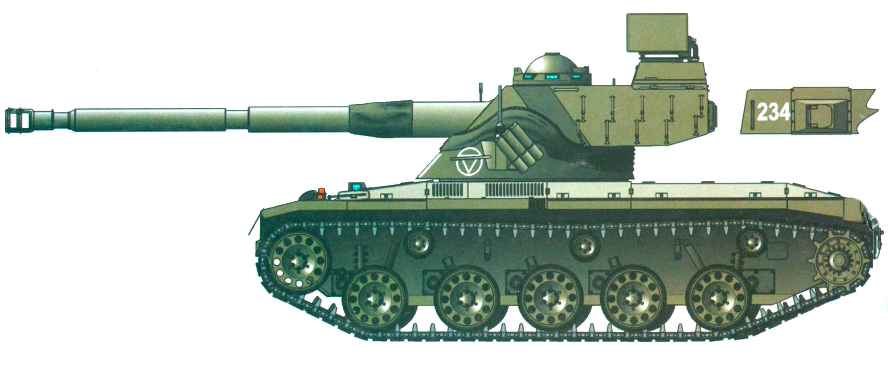 "SK-105 ""Кирасир"" австрийской армии в окраске 1970 - 1980 годов"