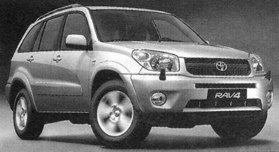 Toyota RAV4 второго поколения выпуска 2000 года