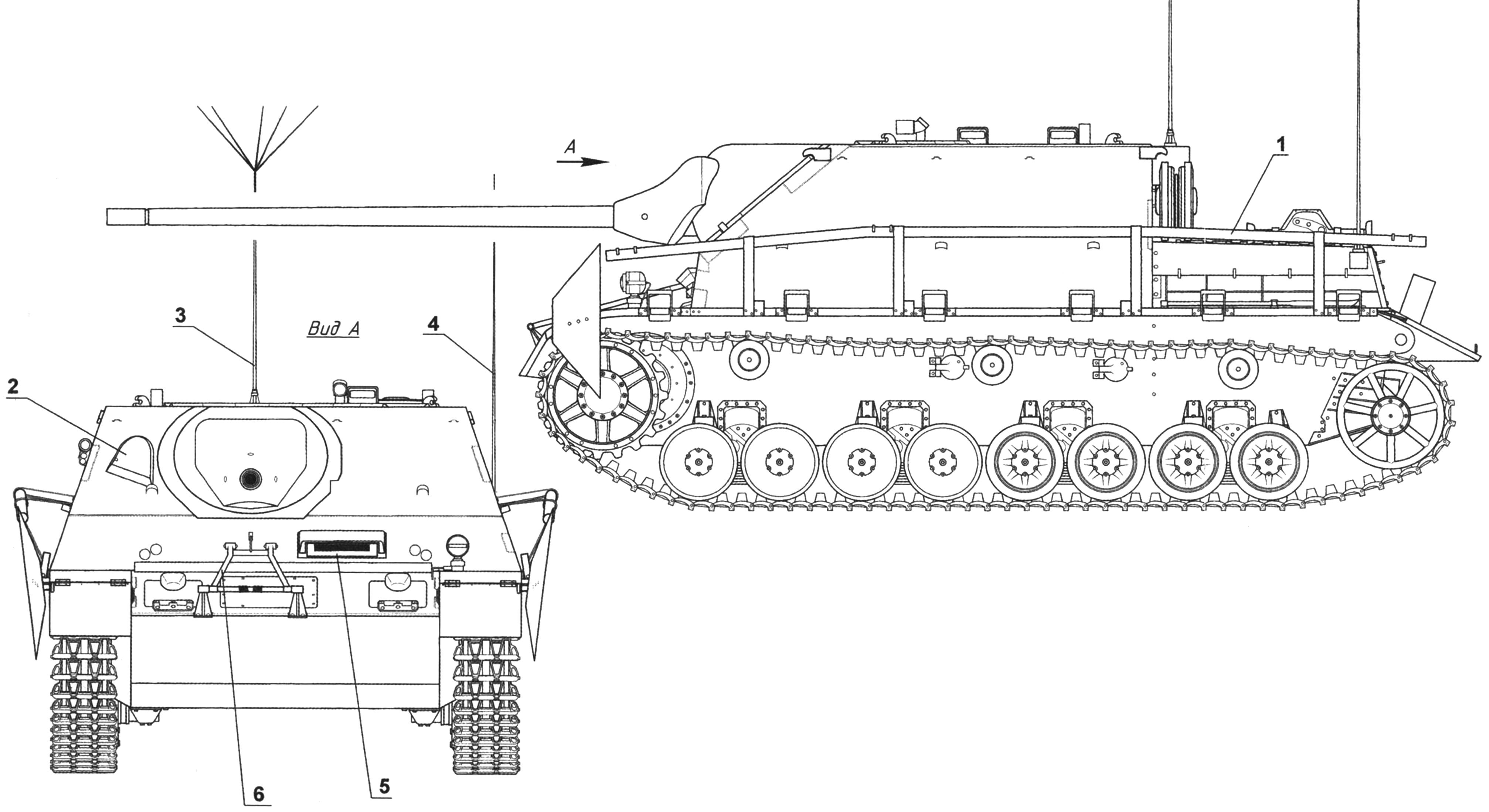 Истребитель танков Panzer IV/70(A),