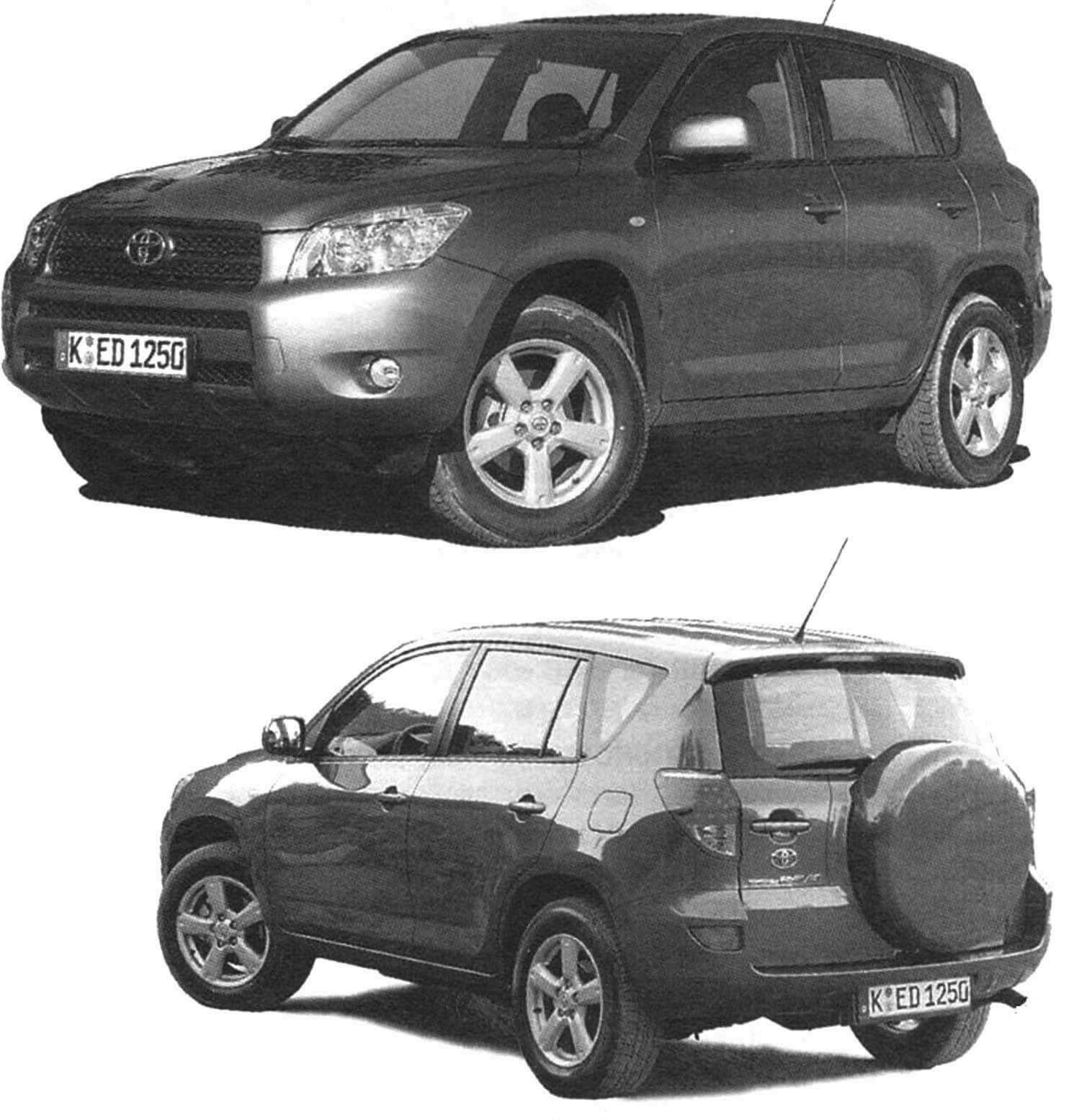 Toyota RAV 4 третьего поколения выпуска 2005 года