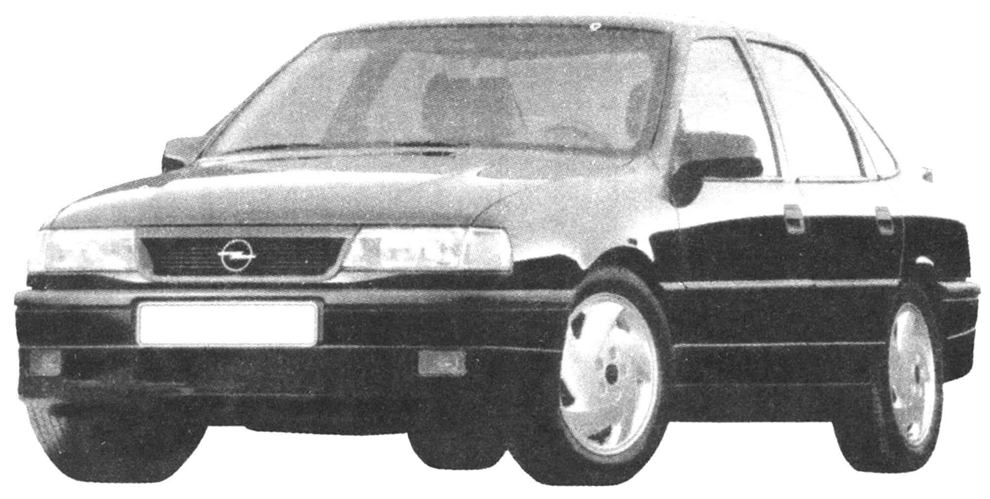 VECTRA 2000-го года — предшественник автомобиля OPEL VECTRA третьего поколении (1,6—2,6 л, 100—170 л.с., 193—230 км/ч)