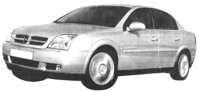 OPEL VECTRA 2002 года ( 1,8—3,2 л, 122—211 л.с., 210—247 км/ч)