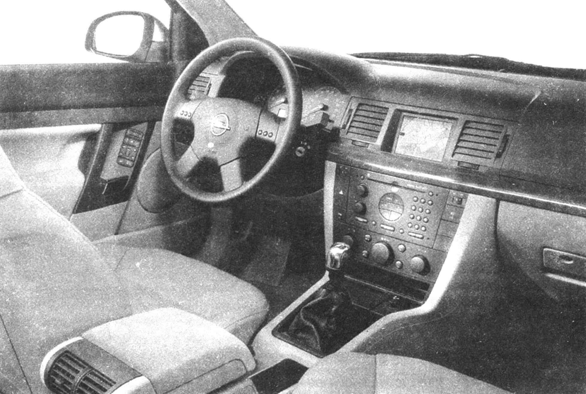 Интерьер нового OPEL VECTRA — на уровне FORD MONDEO и VW PASSAT