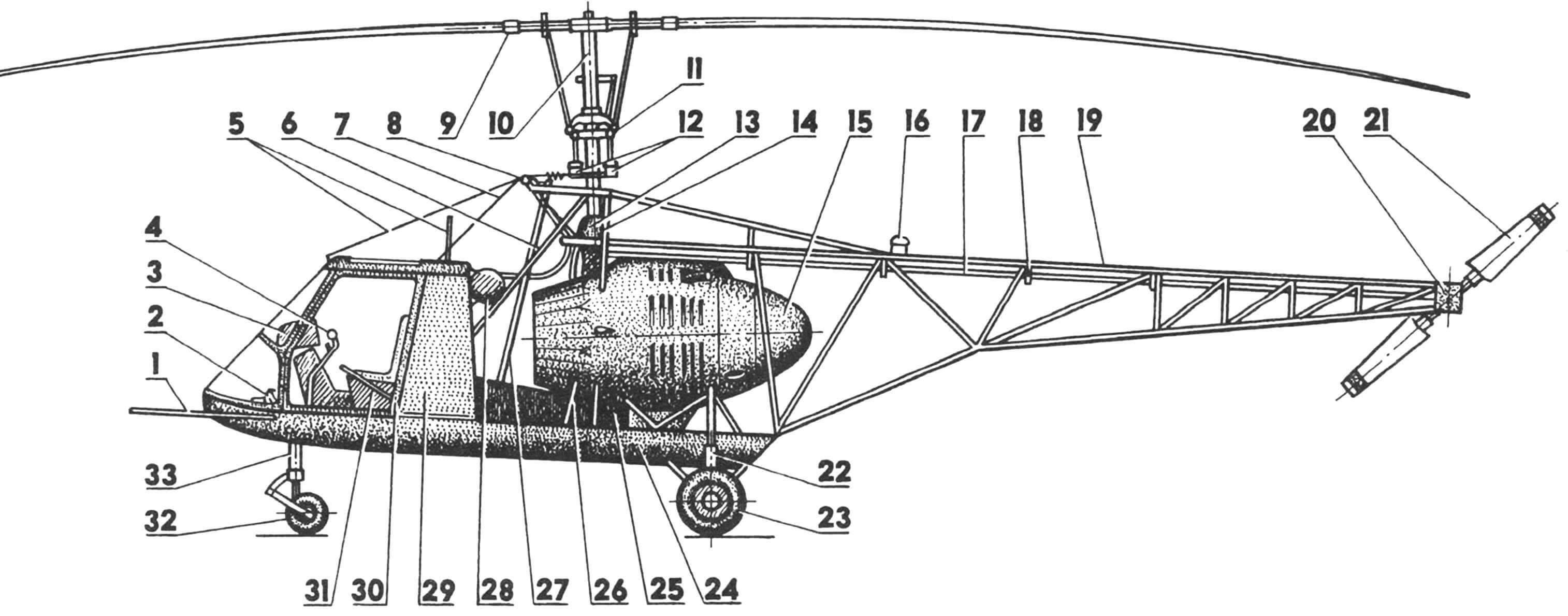 Компоновка вертолета