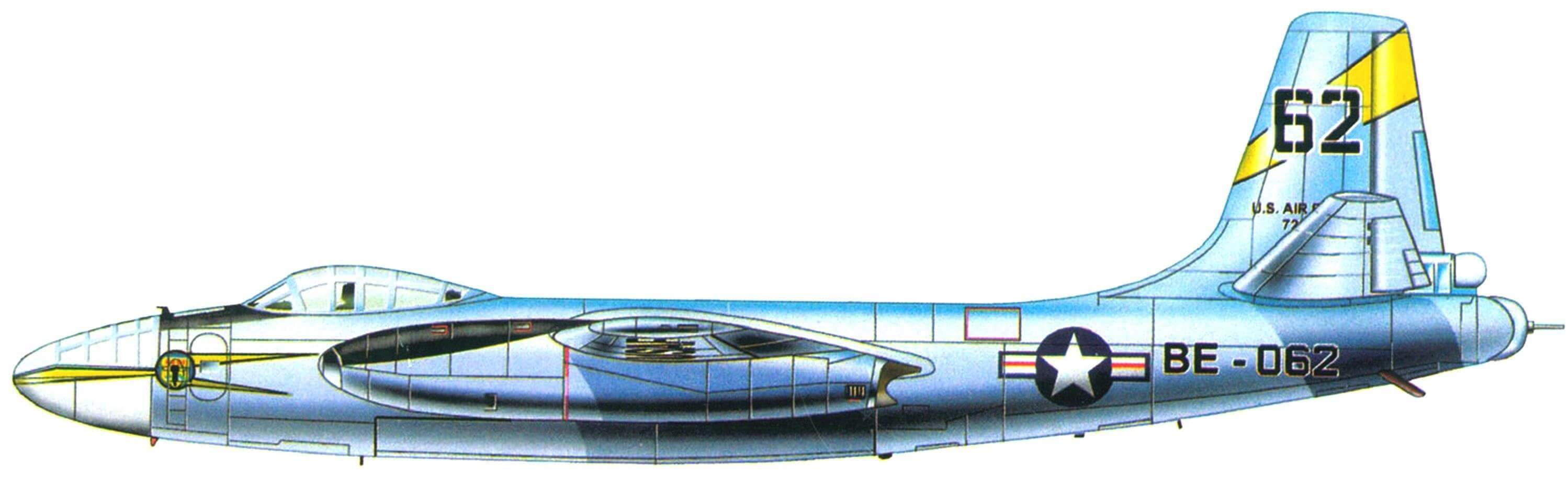 North American B-45 Tornado В-45А-5 из 85-й эскадрильи