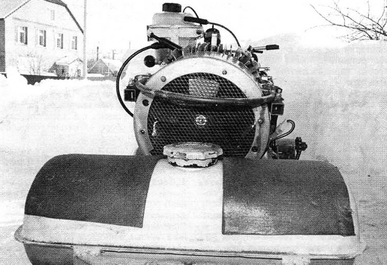 Двигатель получил принудительное воздушное охлаждение