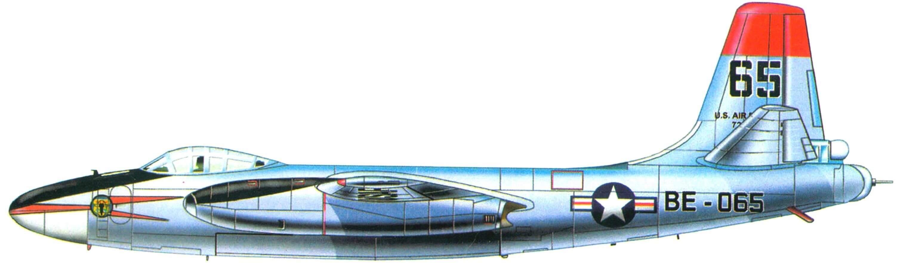 North American B-45 Tornado В-45А-5 из 84-й эскадрильи