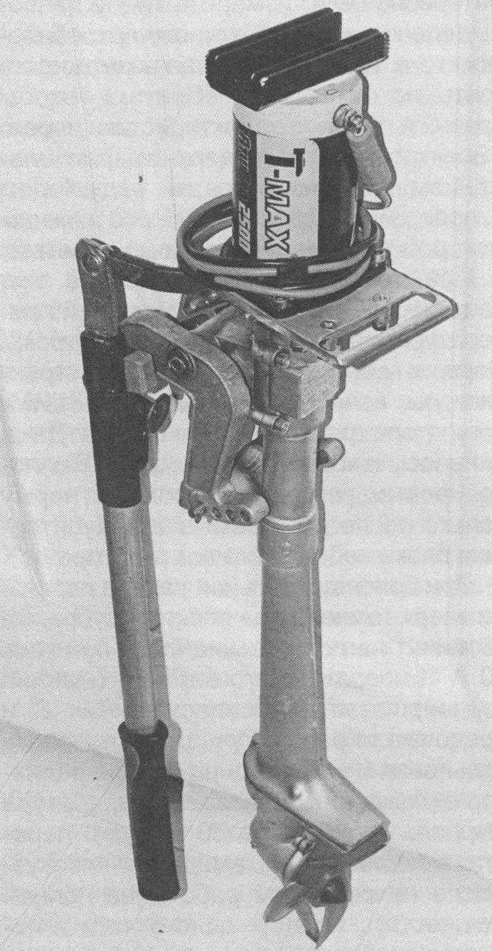 Двигатель от лебедки на «ноге» ПЛМ «Салют» - получился «ЭлектроСалют»!