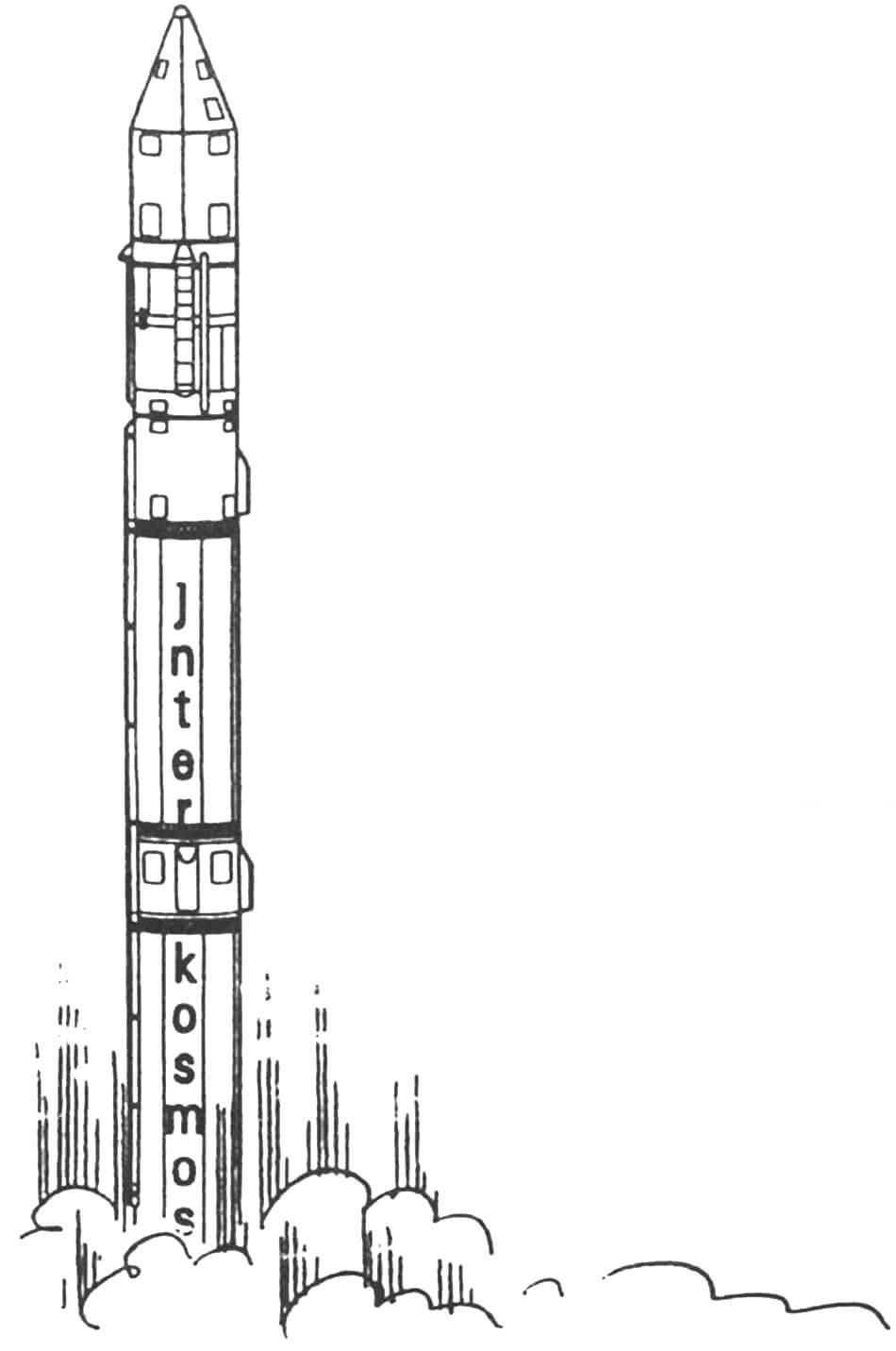 «РАБОЧАЯ ЛОШАДКА» КОСМОДРОМОВ (Ракета-носитель «Космос-ЗМ»)