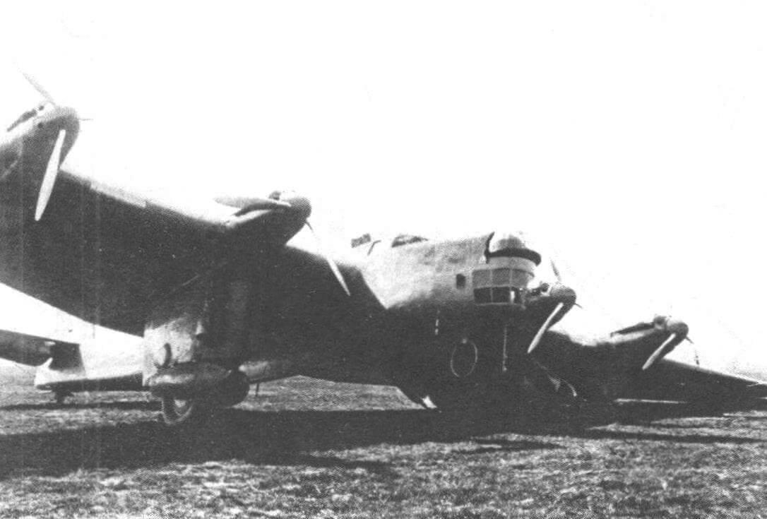 Авария бомбардировщика ДБА 21 мая 1936 года