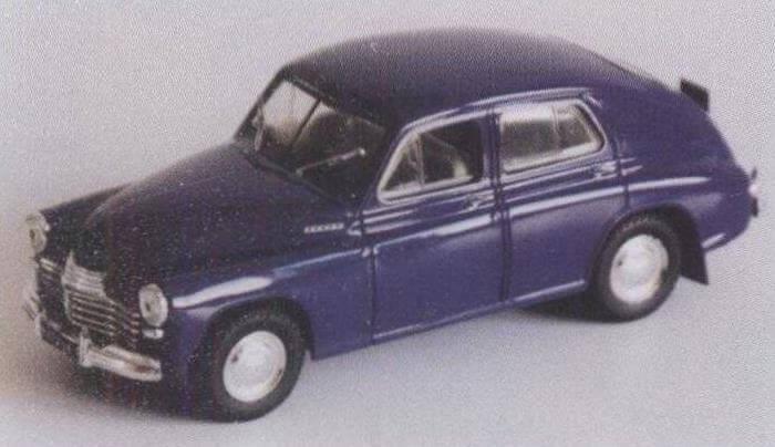 Модель ГАЗ-М20 «Победа» образца 1949 года