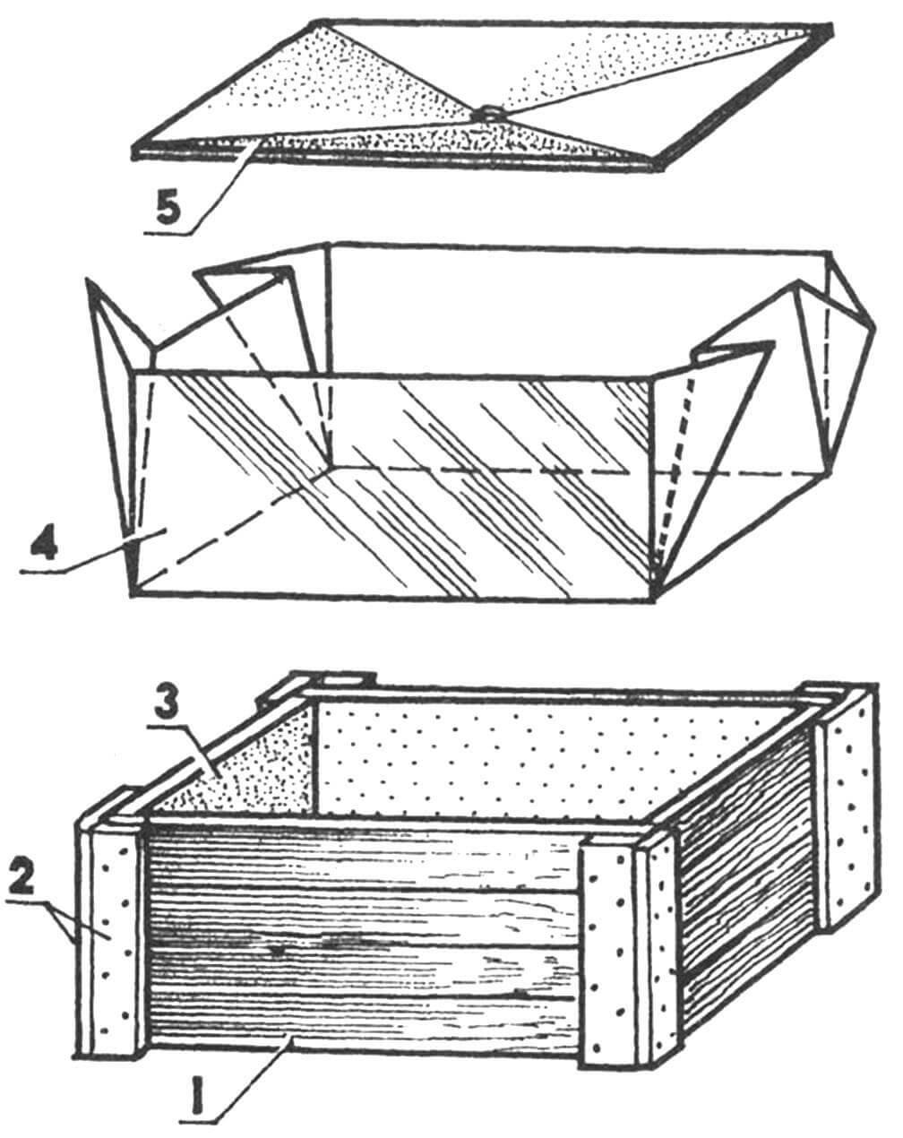 Ящик-водосборник