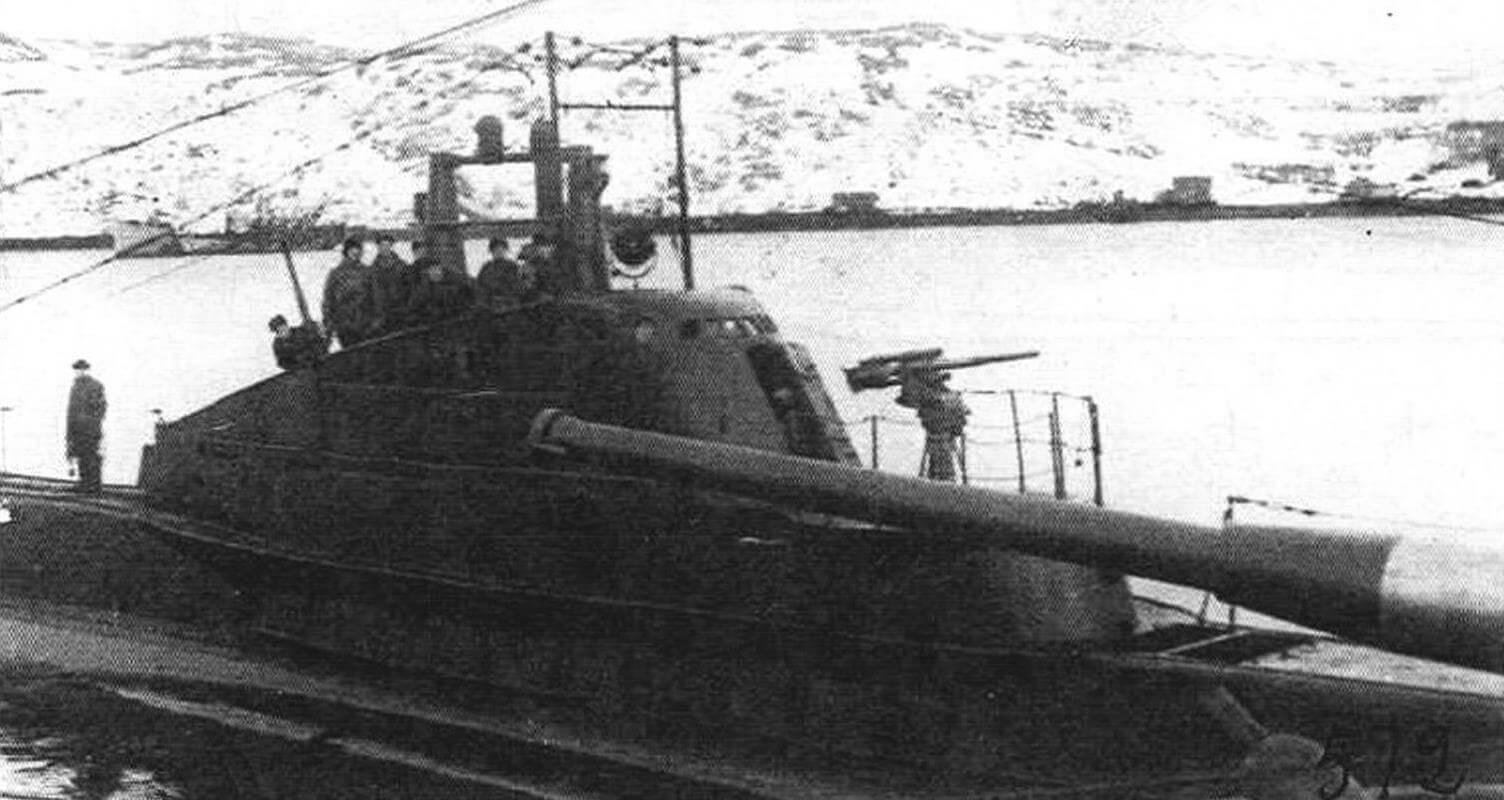 Подлодка Щ-402 (лето 1937 года)