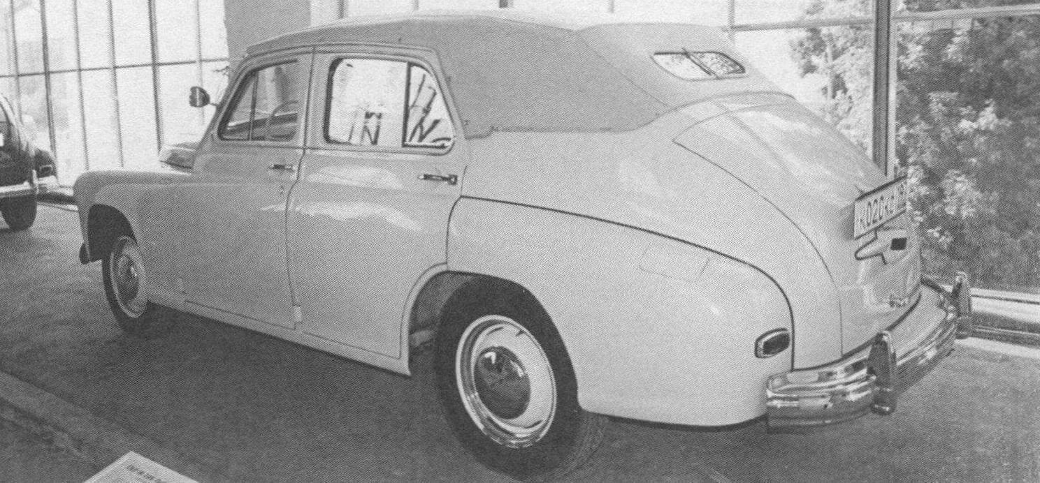Кабриолет «Победа» ГАЗ-М20Б
