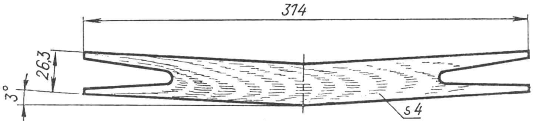 Соединительная накладка крыла