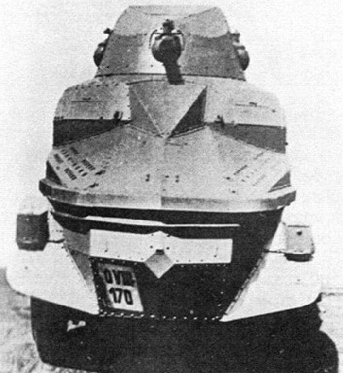 Первый опытный РА III