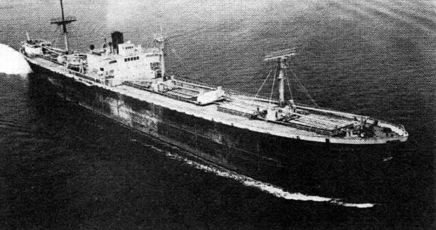 Один из «Либерти», после Второй мировой войны не поставленный на прикол, а эксплуатировавшийся в гражданском флоте - модернизированный «Бинки» (экс-«Ховард А. Келли»)