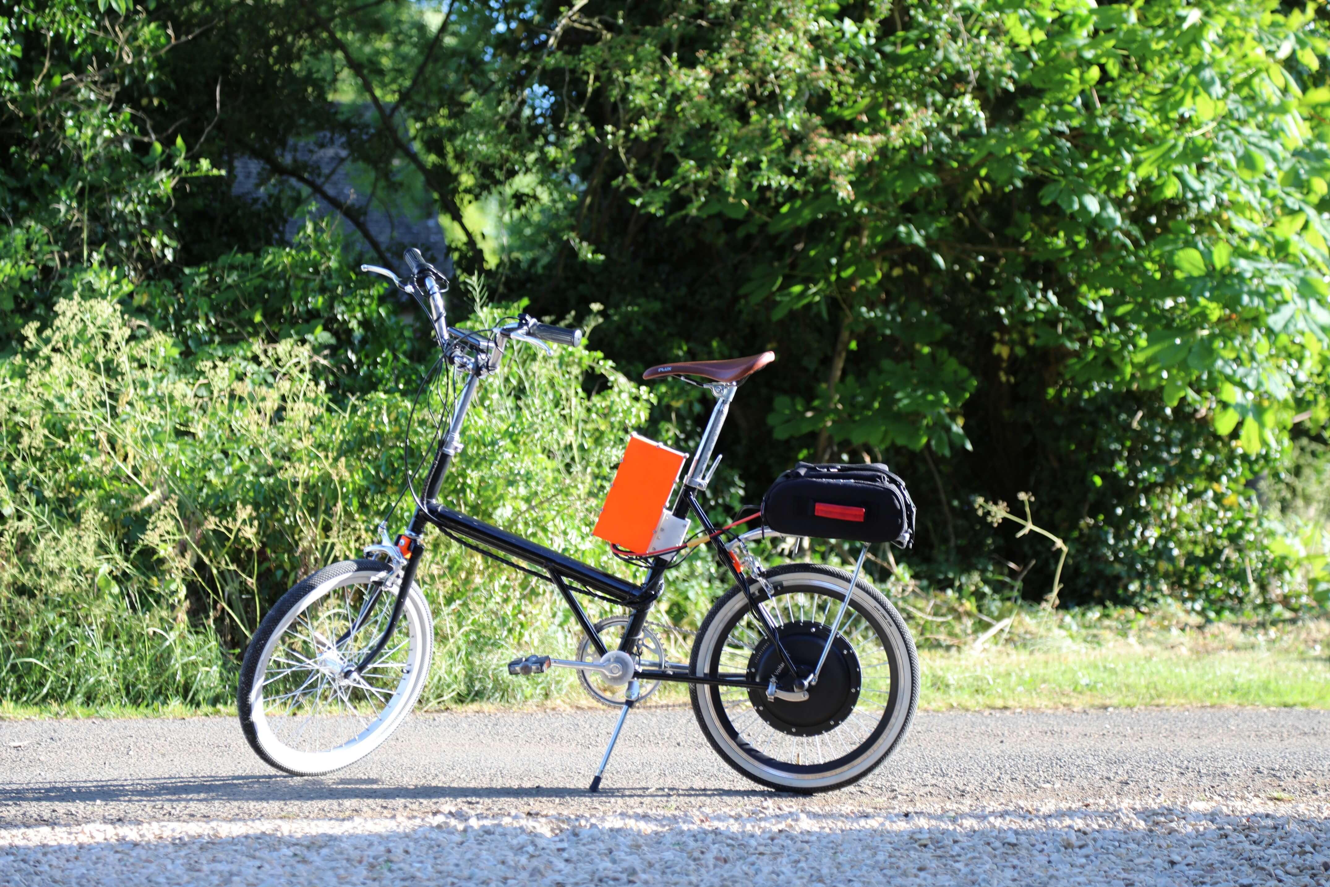 Электровелосипед из старого велосипеда