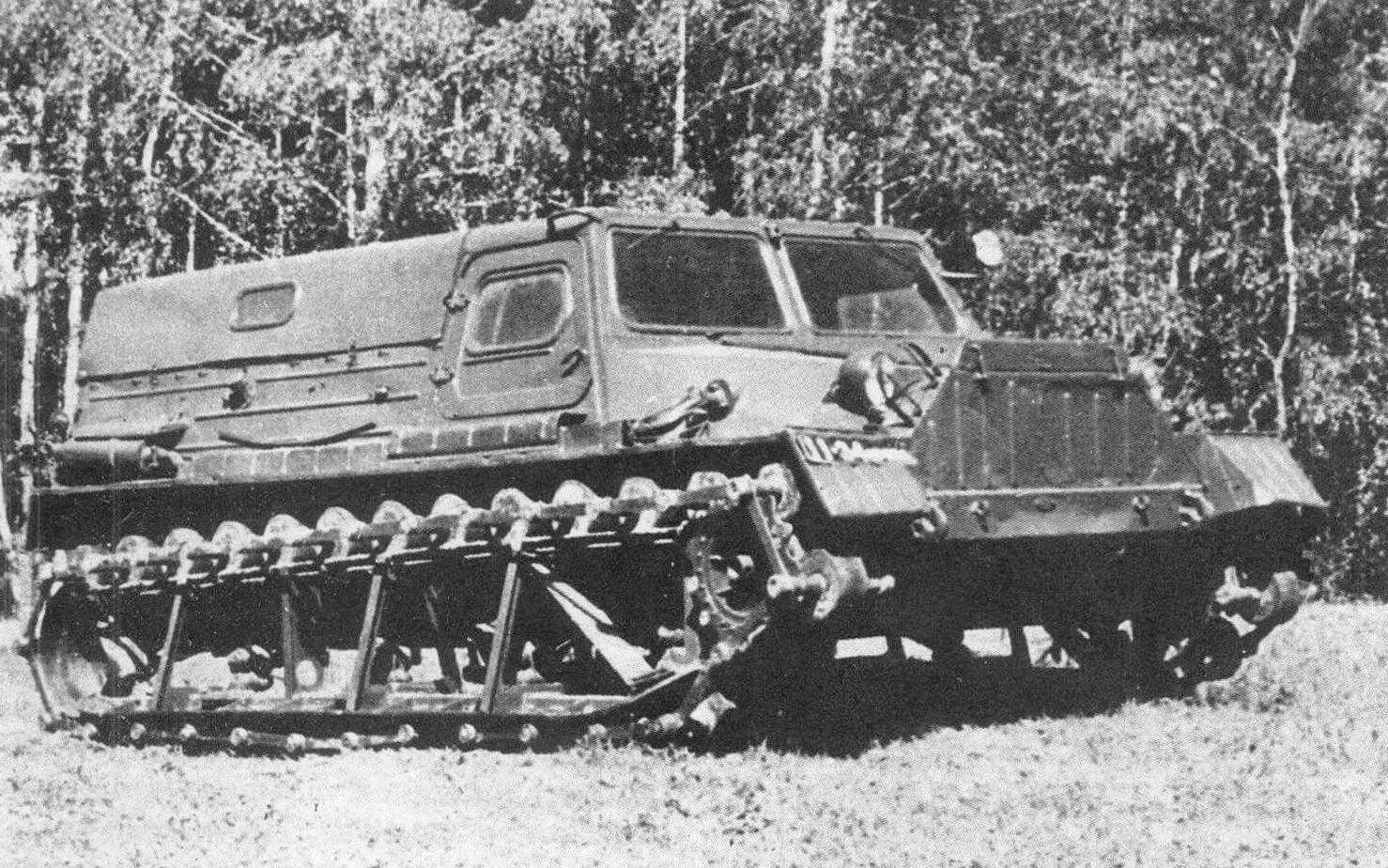 Опытный вездеход ГАЗ-47АМА