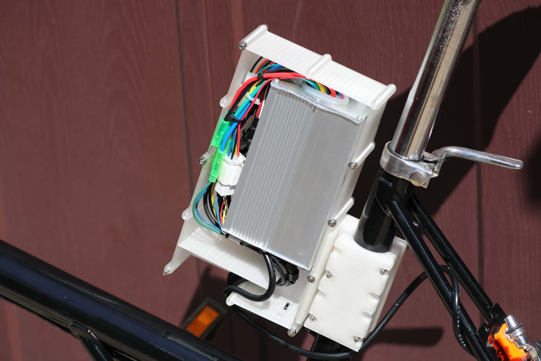 Шаг шестой: мотор-колесо и электроника