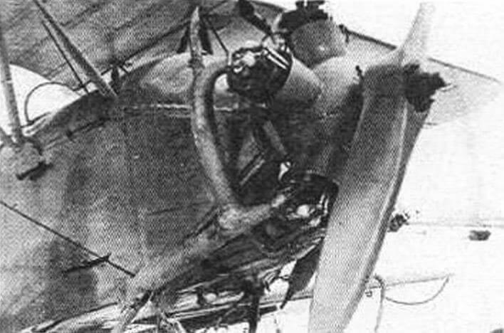 Силовая установка У-2 ВС, оборудованная глушителем ШПГ-2