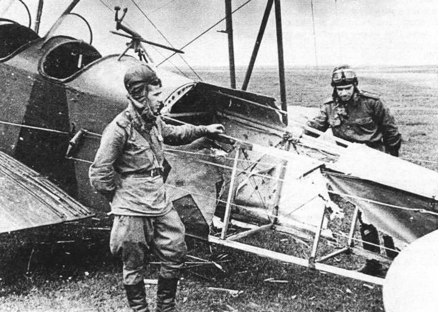 Возвращение после тяжелого боевого вылета (1943 год)