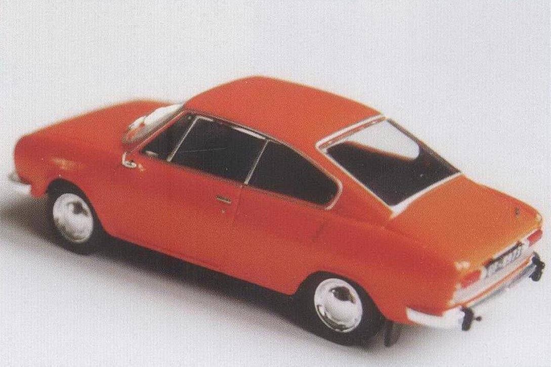 Купе Skoda 110R