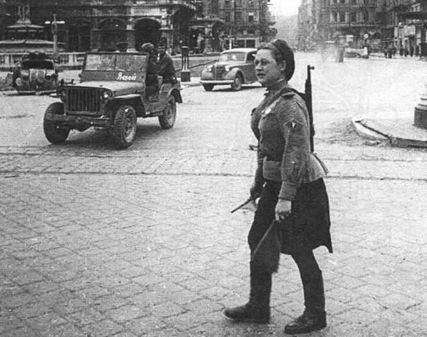 В Берлине (май 1945 года)
