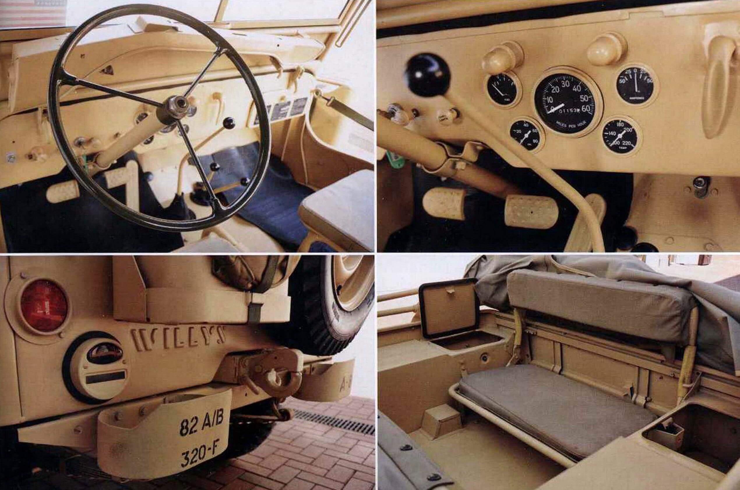 Willys МВ 1942 года выпуска, из частной коллекции. Восстановлен до оригинального заводского состояния энтузиастами автомобильной старины в Самаре