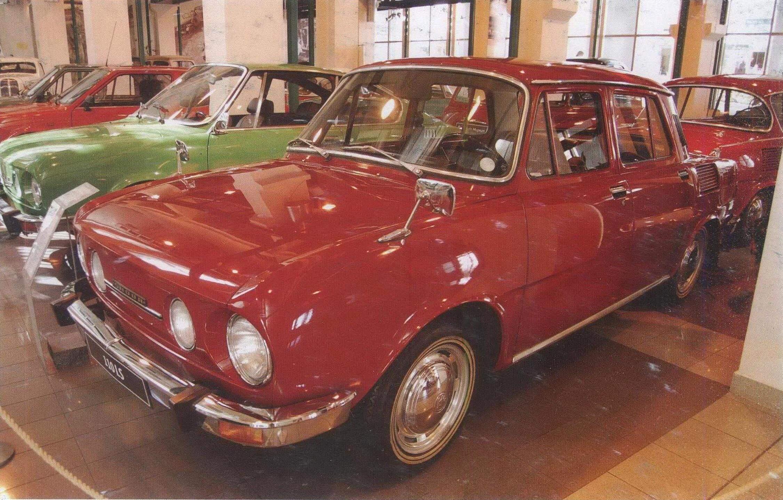 Купе Skoda 110 R разработано на базе седана Skoda 100/110