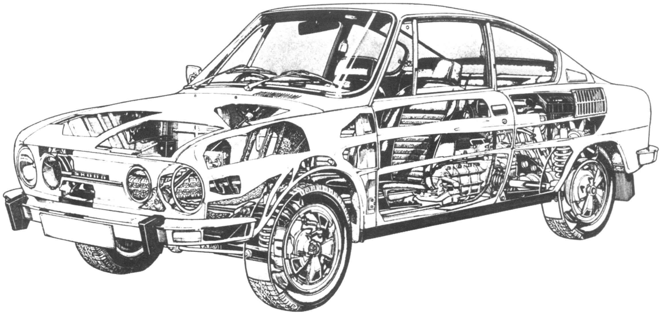 Основным экспортным рынком Skoda 110 R была Великобритания
