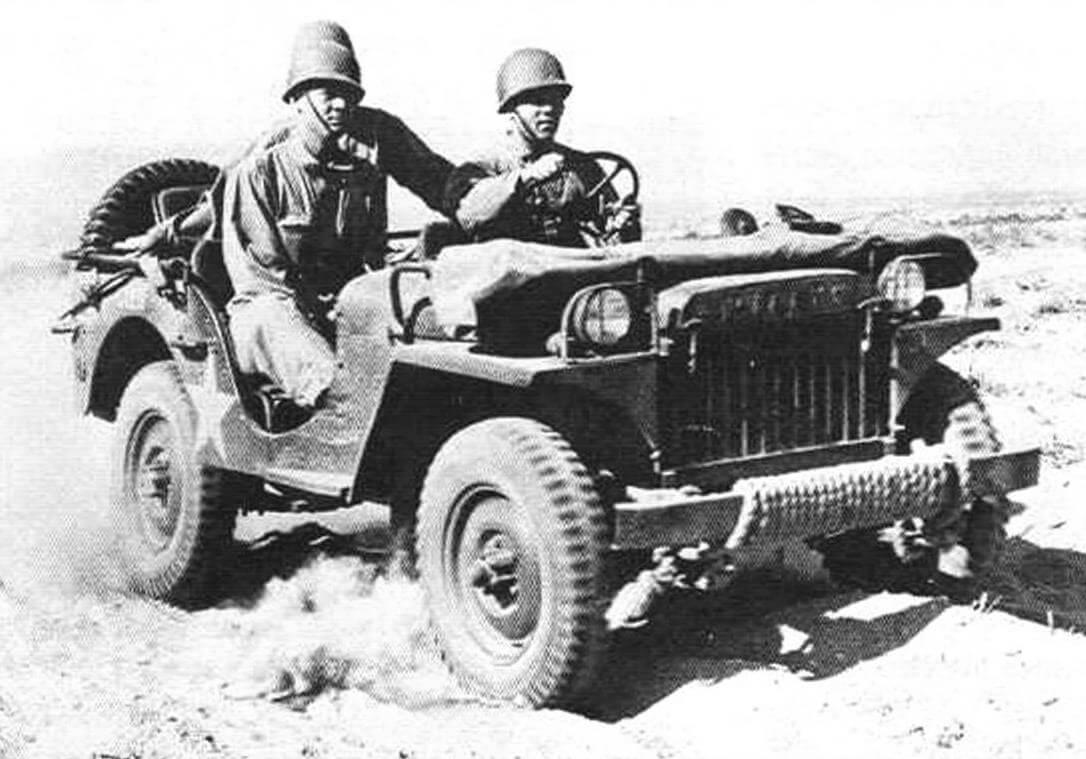 С июня до конца 1941 года было выпушено 1500 экземпляров Willys MA