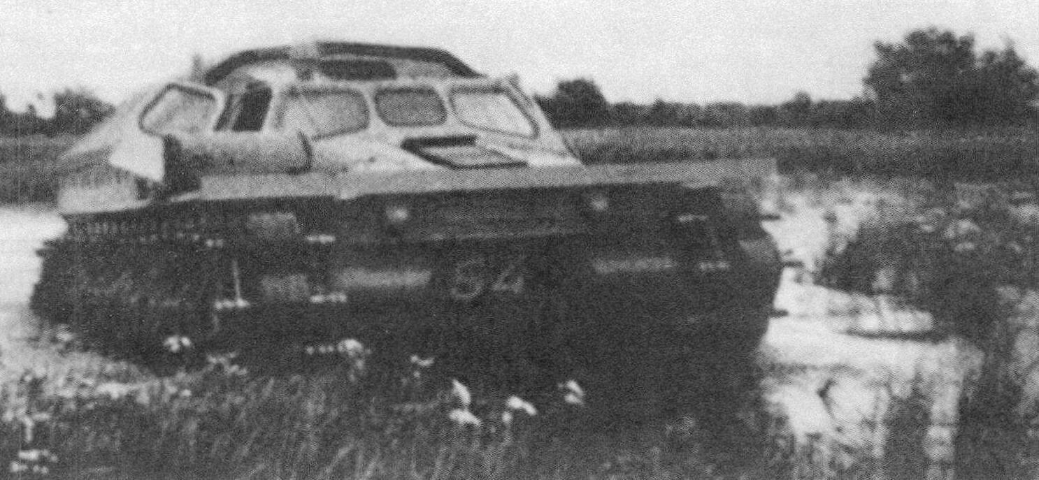 ГТ-ТК на испытаниях